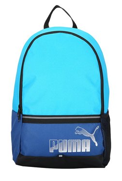 Puma Phase True Blue & Blue Danube Solid Laptop Backpack