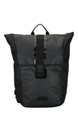 ae8fb643d2e8 Puma BMW M Puma Black Solid Polyester Laptop Backpack