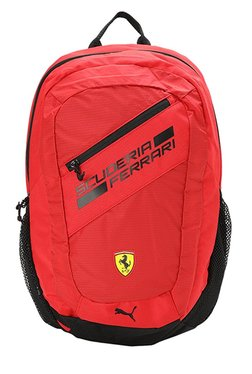 ed4cd760c1c6 Puma Ferrari Fanwear Rosso Corsa   Black Laptop Backpack