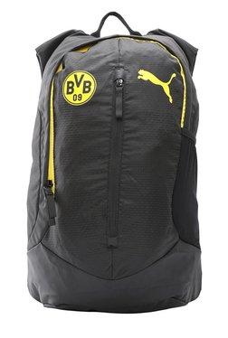 Puma BVB Performance Black Textured Polyester Backpack 4cdddaa8e5486