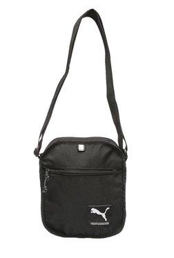 0a93b899426b Puma Academy Black Solid Polyester Sling Bag