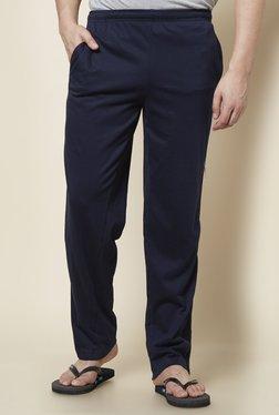Zudio Navy Slim Fit Trackpants