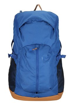 Puma Echo True Blue Solid Polyester Laptop Backpack