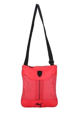 Puma Ferrari LS Rosso Corsa Perforated Sling Bag