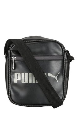 e418f89a60a6 Puma Cams Black Solid Sling Bag