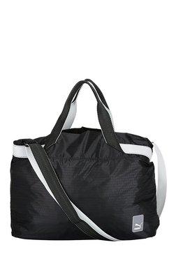 1de271b17acf Puma Prime 2-in-1 Black   White Printed Laptop Shoulder Bag