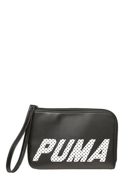 Puma Prime Black Polka Dots Wristlet
