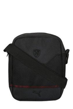 Puma Ferrari LS Black Polyester Sling Bag