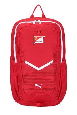 ... Puma Ferrari Replica Rosso Corsa Printed Laptop Backpack Best Deals b2733a8073