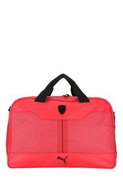 Puma Ferrari LS Rosso Corsa Perforated Messenger Bag