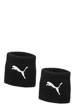 Puma Cat Black Solid Cotton Wristbands 61cba1e9aae81