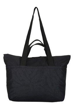 Puma Archive Black Printed Polyester Laptop Shoulder Bag