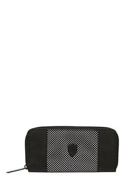 Puma Ferrari LS Black & White Polyester Wallet