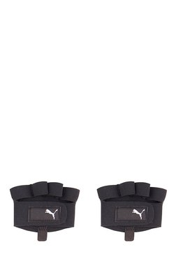 c92bf948ec9e Puma Black Textured Gym Gloves