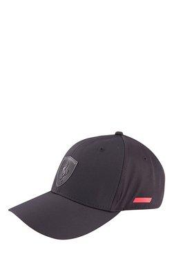Puma Ferrari LS Black Solid Polyester Gus Cap