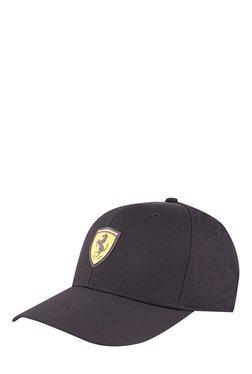 Puma Ferrari Fanwear Black Solid Polyester Gus Cap