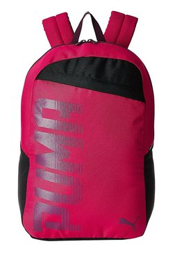 Puma Pioneer Love Potion Solid Polyester Laptop Backpack d1c805fa7885b