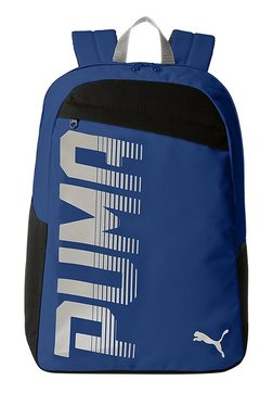 26c57396005 Puma Pioneer Limoges Blue Solid Polyester Laptop Backpack