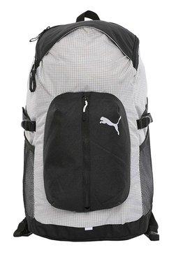 Puma Apex Special Black & White Printed Laptop Backpack