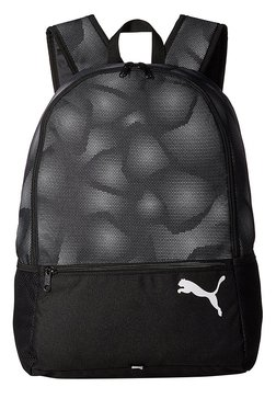 Puma Alpha Black Printed Polyester Laptop Backpack 52a1db49d2ba