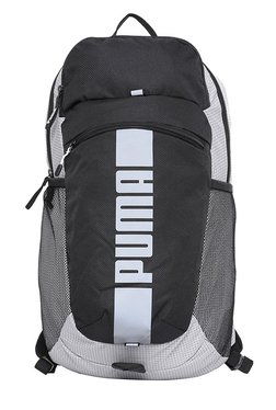 Puma Deck Special Black & White Printed Laptop Backpack