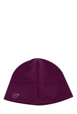 Puma Slick Purple Solid Polyester Slick Heather Cap