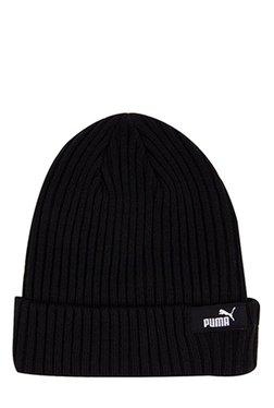 bd6775d5be74 Puma Style Black Solid Fabric Beanie