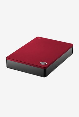 Seagate Backup Plus Portable Drive 5 TB HDD (Red)