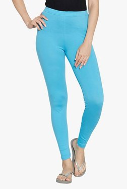 Blush By PrettySecrets Blue Cotton Leggings