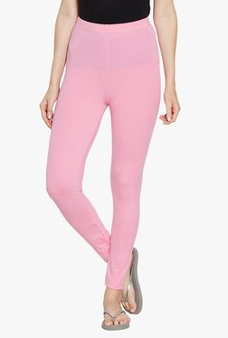 Blush By PrettySecrets Pink Cotton Leggings