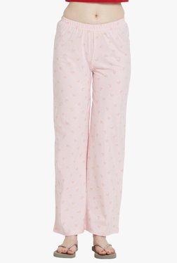 Blush By PrettySecrets Pink Printed Cotton Pyjamas