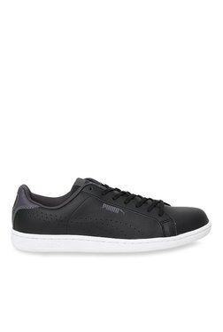 Puma Smash Perf Black & Periscope Sneakers