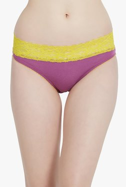 Blush By PrettySecrets Purple Lace Hipster Panty