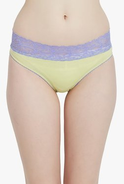 Blush By PrettySecrets Lime Lace Hipster Panty