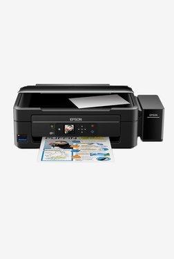 Epson L485 INK TANK Wireless All-in-One Printer (Black)