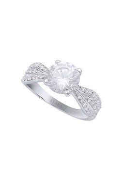 bd8bb19a5 Silver Rings | Buy Silver Rings Online in India at Tata CliQ