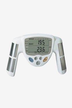 Omron HBF-306 Body Fat Monitor (Off White)