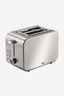 Eveready PT104 2 Slice 850 W Pop Up Toaster (Silver)