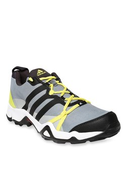 fb3d73c0d55 Adidas Rogain Grey   Yellow Outdoor Shoes