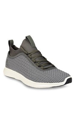 Reebok Plus Runner Woven Stone Grey Running Shoes d33e10cf9