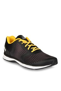 Reebok Sprint Run Black & Grey Running Shoes