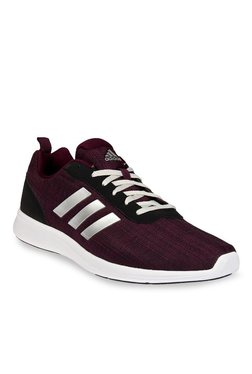13c0dce5f1c Adidas Adiray 1.0 Maroon   Silver Running Shoes