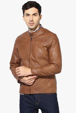 Red Tape Brown Full Sleeves Jacket