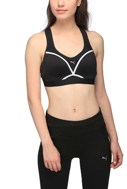 Puma Black PWRSHAPE Control Sports Bra
