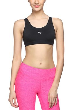 Puma Black PWRSHAPE Pure Sports Bra