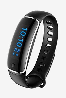 Enhance Limited Edition Ultimate V08 HR Premium Fitness Band (Black)