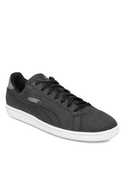 Puma Smash Denim Black Sneakers