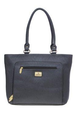 Esbeda Black Solid Shoulder Bag