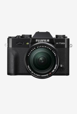 Fujifilm X-T20 24.3 MP With 18-55 Mm Lens DSLR Camera (Black)