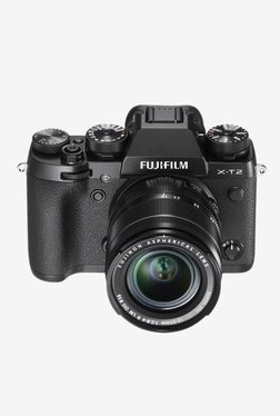 Fujifilm XT2 24.3 MP 18-55 Mm Lens DSLR Camera (Black)